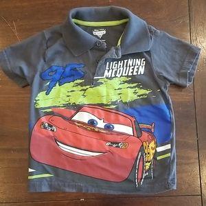 24 months Cars Lightning McQueen Polo Disney New